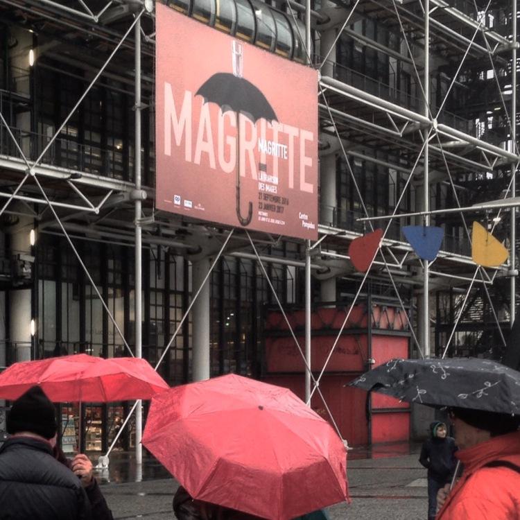 Evènement René Magritte, Centre George Pompidou, Paris. Photo © AAPERTURA 2016