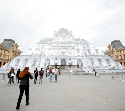 Jr au Louvre, 2016 © AAPERTURA